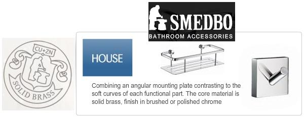 Click to browse: Smedbo swedish bathroom accessory